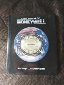 The Legend Of HONEYWELL 英文版 书有英文签名 精装 品好  书品如图 避免争议