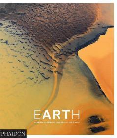英文原版摄影画册 EarthArt: Colours of the Earth 多彩地球 地球风景 航拍摄影集 高空俯瞰自然景观