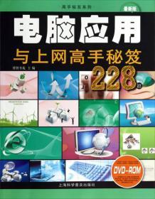 高手秘笈系列:电脑应用与上网高手秘笈228招(最新版)