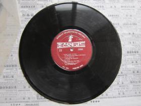 原版朝鲜唱片   3   有塑料外套