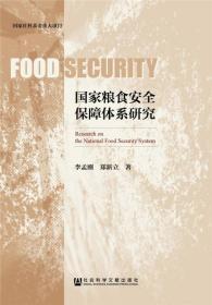 国家粮食安全保障体系研究