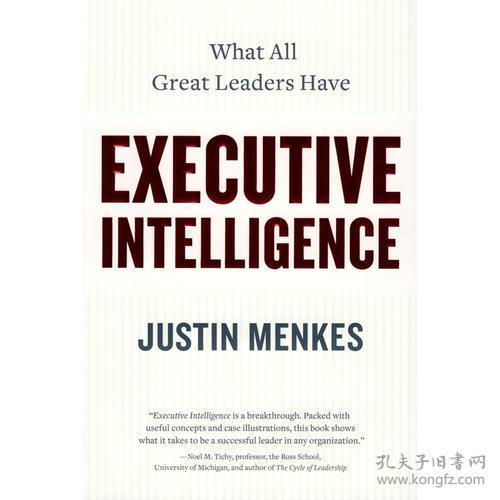 9780060781873-xg-Executive Intelligence