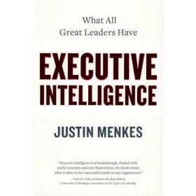 正版xg-9780060781873-Executive Intelligence