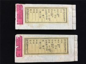 中日书画家资料《新撰增补和汉书画一览》前编、续编2册。汉土之部分书家、画家、释家等。