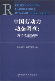 中国劳动力动态调查:2013年报告
