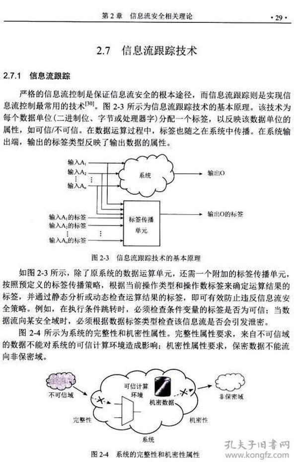 正版:門級信息流分析理論及應用