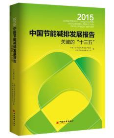 """2015中国节能减排发展报告:关键的""""十三五"""""""