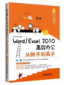 Word/Excel 2010高效辦公從新手到高手(圖解視頻版)(附光盤)