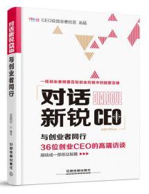 对话新锐CEO:与创业者同行