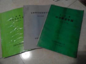 吉林省环境质量年报:(一九八八年度原本;1988年度附表 ;一九八七年度 )