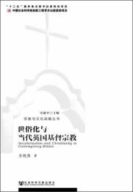 宗教与文化战略丛书:世俗化与当代英国基督宗教