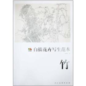 竹-白描花卉写生范本