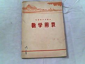 北京市中学课本-数学用表