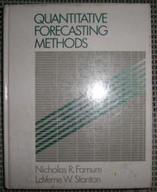 英文原版 Quantitative Forrecasting Methods(数量预测方法)