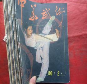 中华武术-86年2-12期共11册