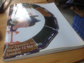 Bonhams伦敦 宝龙拍卖公司2009年 日本文物拍卖图录