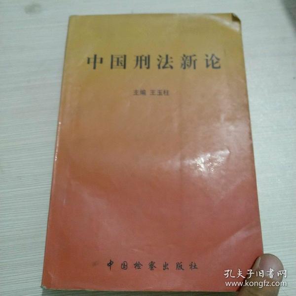 中国刑法新论