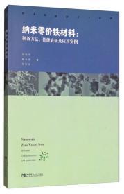 纳米零价铁材料:制备方法、性能表征及应用实例
