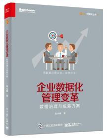 企业数据化管理变革 数据治理与统筹方案