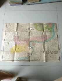 最新大上海地图 昭和18年发行