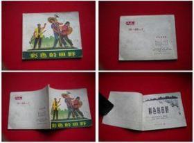 《彩色的田野》,浙江1975.5一版一印20万册,9081号,文革连环画