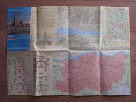 1985年郑州交通游览图
