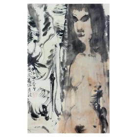 大来文化 吴浩 真迹字画 当代水墨大师 知名画家作品 收藏国画宣纸包邮00139