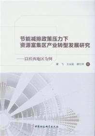 节能减排政策压力下资源富集区产业转型发展研究:以桂西地区为例