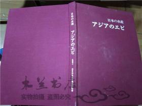 原版日本日文書 日本の水產 アジァのエビ 富山哲夫 社團法人全日本水產寫真資料協會 大12開硬精裝