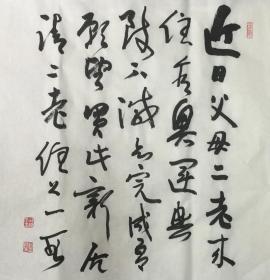 ★【顺丰包邮】、【纯手绘】【孙晓云】★手绘书法、四尺斗方 (69*69cm)买家自鉴