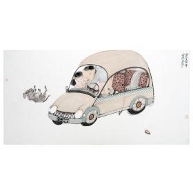 大来文化 吴浩 真迹字画 当代水墨大师 知名画家作品 收藏国画宣纸包邮00141
