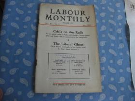 LABOUR MONTHLY  1958年第3期【月刊 】