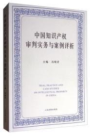 中国知识产权审判实务与案例评析 [TRIAL PRACTICE AND CASE STUDIES ON INTELLECTUAL PROPERTY IN CHINA]