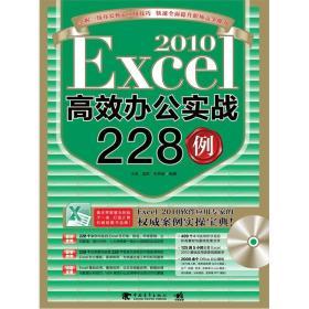 EXCEL2010高效办公实战228例