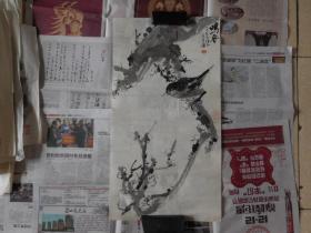 吴长东[鸣春图]2平尺,保真