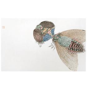 大来文化 吴浩 真迹字画 当代水墨大师 知名画家作品 收藏国画宣纸包邮00145