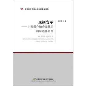 规制变革:中国媒介融合发展的路径选择研究