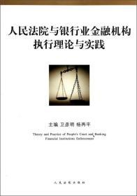 人民法院与银行业金融机构执行理论与实践