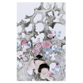 大来文化 吴浩 真迹字画 当代水墨大师 知名画家作品 收藏国画宣纸包邮00146