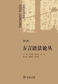 方言语法论丛:第七辑