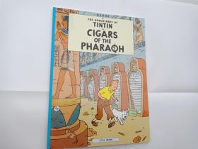 THE ADVENTURES OF TINTIN Cigars of the Pharoah (丁丁历险记 法老的雪茄 英文版)