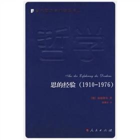 思的经验:当代西方学术经典译丛