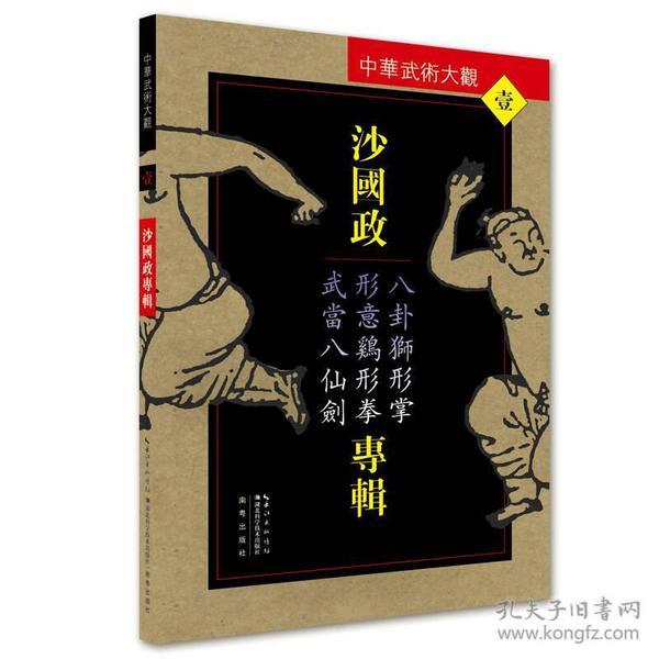 沙国政专辑(八卦狮形掌形意鸡形拳武当八仙剑)/中华武术大观