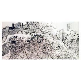 大来文化 金心明 真迹字画 当代水墨大师 知名画家作品 收藏国画宣纸包邮00153