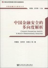 正版】中国金融安全研究丛书:中国金融安全的多向度解析