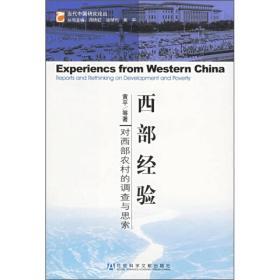 西部经验:对西部农村的调查与思索