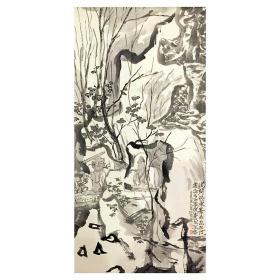 大来文化 金心明 真迹字画 当代水墨大师 知名画家作品 收藏国画宣纸包邮00154