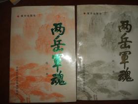 两岳军魂(2.3二集)二册