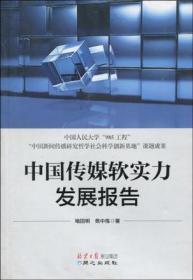 中国传媒软实力发展报告
