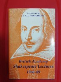 British Academy Shakespeare Lectures 1980-89 (英国人文和社会科学院莎士比亚讲座1980-89)演讲集